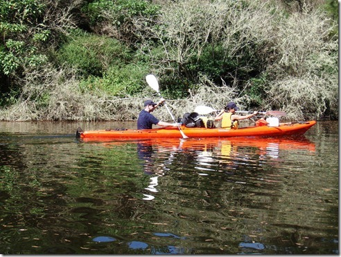 Ian and Yeemun on the river