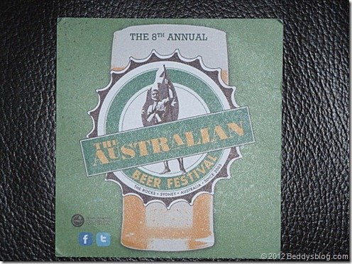 The Austrlian beer festival