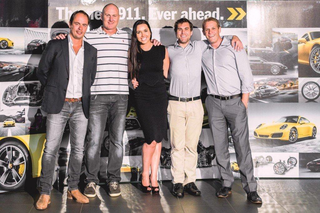 Porsche 911(991) gen2 group shot