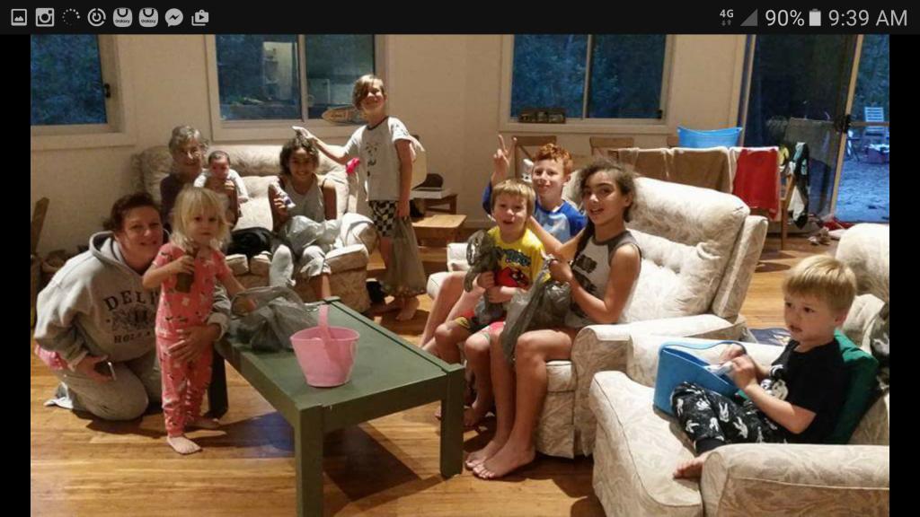 All the kids at Lake Conjola
