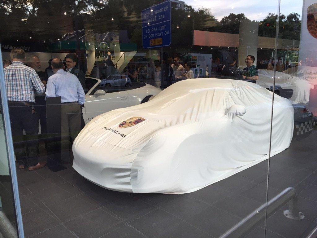 Porsche 911(991) gen2 under cover